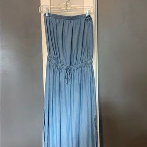 Dresses & Skirts - Chambray maxi with side slits